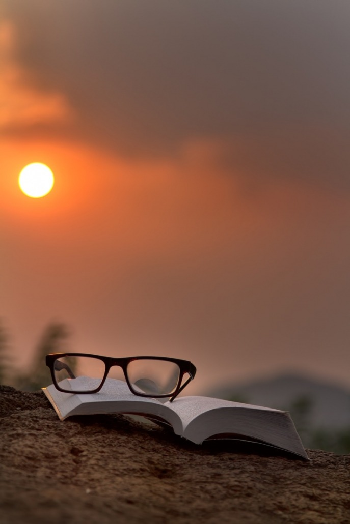 Sunset reading