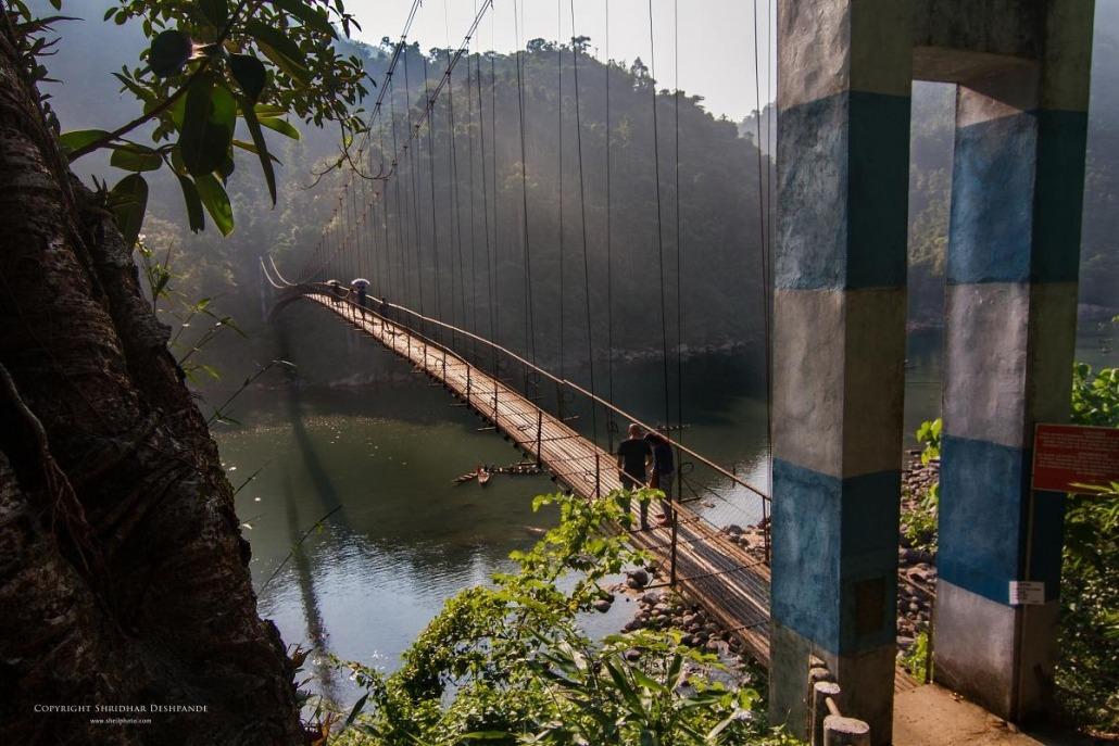 Foot Suspension Bridge at Shnongpdeng