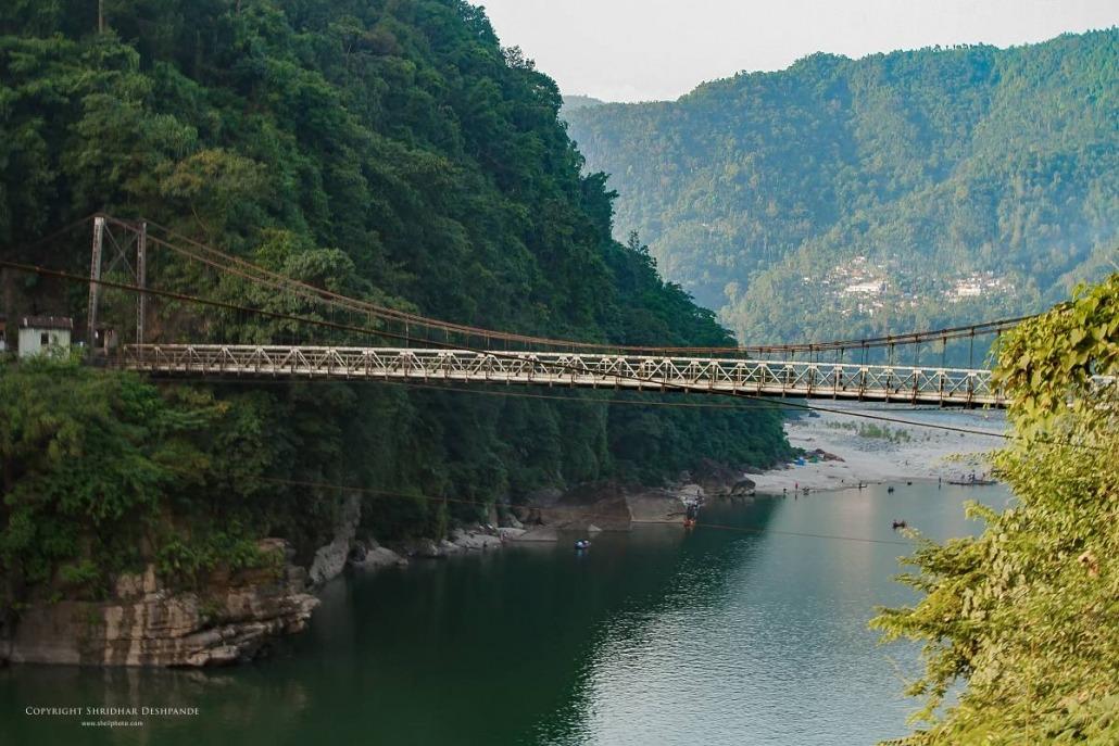 Bridge at Dawki