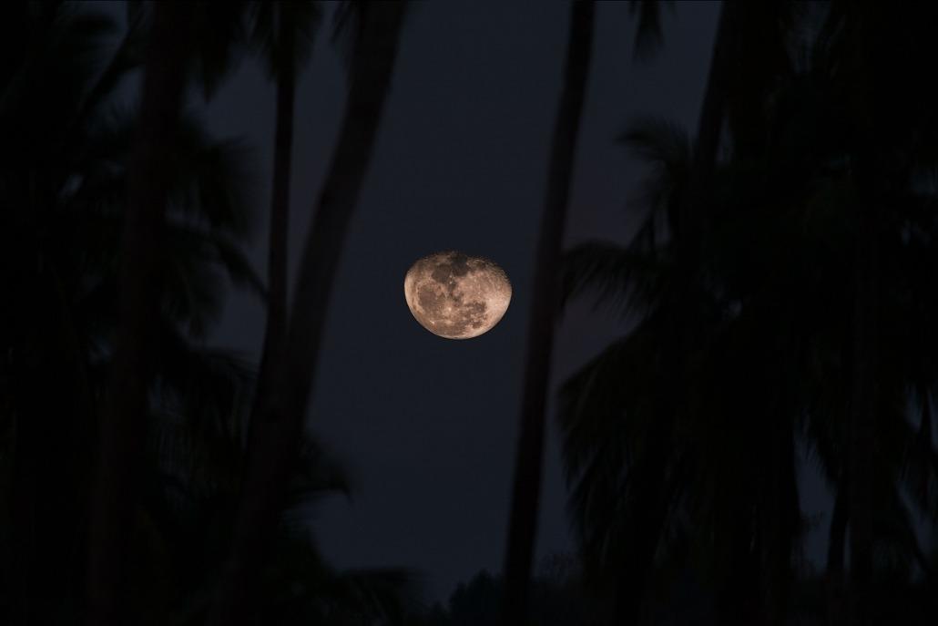 Moon at Konkan