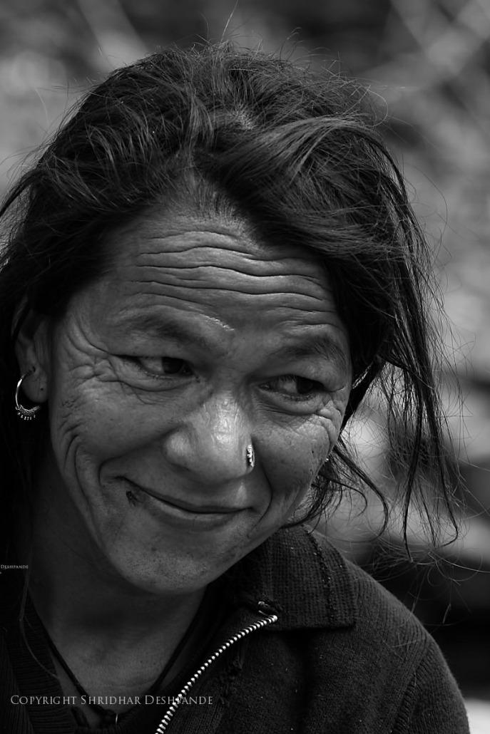 Woman from Uttaranchal